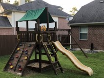 Fantastic Kids Wooden Playset $150 in Spring, Texas