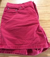 FADED GLORY SHORTS (RED) (SIZE 14) in Quantico, Virginia