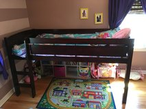 Low loft bed in Chicago, Illinois