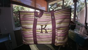 "Beautiful Thirty-One Deluxe Utility Tote ""K"" in Aurora, Illinois"