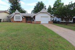 Cozy three bedroom one bath home located in Del City, in Tinker AFB, Oklahoma