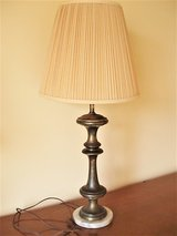 Mid-Century Modern Solid Brass Table Lamps (Pair) in San Antonio, Texas