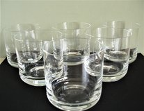 Vintage Crystal Old Fashioned / Rocks Glasses (Set of 6) in San Antonio, Texas