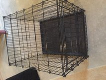 Dog crate in Yorkville, Illinois