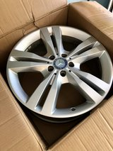 4 Mercedes Benz Rims in The Woodlands, Texas