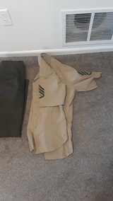 Enlisted uniforms in Camp Pendleton, California