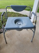 Bedside Potty Chair Extra Large/swing away arm in Warner Robins, Georgia