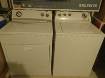 Whirlpool Washer and Dryer in Fort Sam Houston, Texas