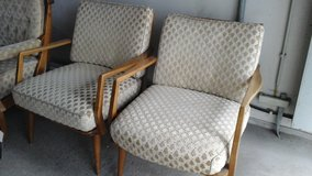 Retro living room chairs in Ramstein, Germany