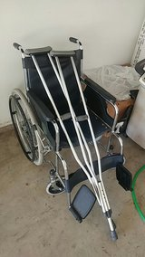Wheel chair and krutchs in Naperville, Illinois