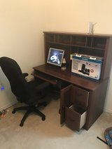 Computer desk, chair and computer. in Fort Polk, Louisiana