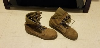 Marine Issue Steel Toe Boots- Sz 9 in Pearl Harbor, Hawaii