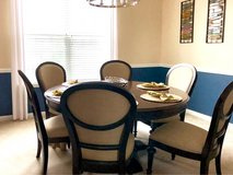 New Havertys dining room table with 6 chair in Quantico, Virginia