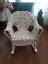 Kids Wicker Rocking Chair in Kingwood, Texas