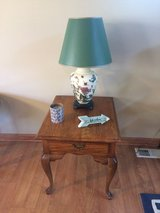Oak End Table in Fort Lewis, Washington