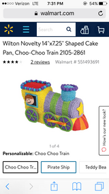 Choo choo train cake pan in Warner Robins, Georgia