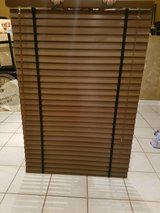 Brown Wood Blinds in St. Charles, Illinois