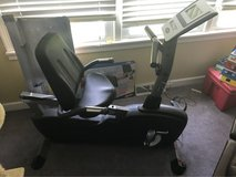 Edge recumbent exercise bike in Bartlett, Illinois