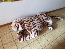 Stuffed giant Tiger in Stuttgart, GE
