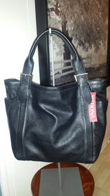 New with Tags!  Large Black Merona Tote in Naperville, Illinois