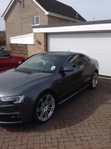 simply the best Audi A5 s line black edition you will find!!! in Lakenheath, UK