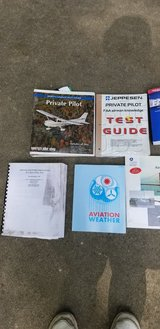 Private Pilot training kit DVD's and books 2009 in Chicago, Illinois