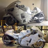 2000 Suzuki Hayabusa GSX1300R Custom made in Nellis AFB, Nevada