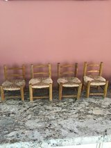Doll Sized Chairs **made in Haiti in Westmont, Illinois