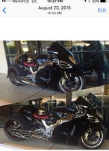 2004 Suzuki Hayabusa GSX1300R Black And Chrome in Nellis AFB, Nevada