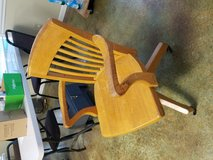 Oak desk chair in Fort Leonard Wood, Missouri