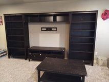 IKEA 5 piece entertainment center in Fort Hood, Texas