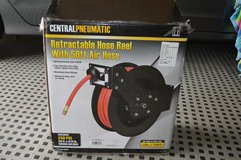 Retractable Air Hose Reel with Air Hose in Glendale Heights, Illinois
