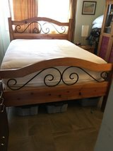 Queen Bed / Mattress set and side cabinet included in Camp Pendleton, California