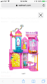 New In Box: Barbie Rainbow Cove Castle in Plainfield, Illinois