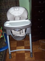High chair in DeKalb, Illinois