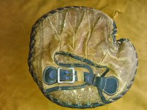 1920's vintage Olympic softball catcher mitt in Camp Lejeune, North Carolina