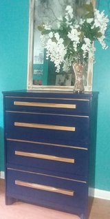 blue chest of drawers in Perry, Georgia
