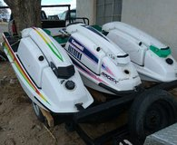 3 Jet Skis with trailer and tool box in Alamogordo, New Mexico