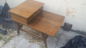 Vintage Tea Table with drawer End Table in St. Charles, Illinois