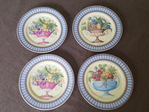 NEW Set of 4 Email de Limoges dessert plates in St. Charles, Illinois