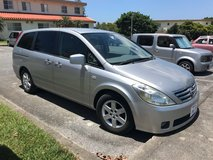 2004 Silver Nissan Presage Mini Van, Beautiful Condition! Well Cared For! in Okinawa, Japan