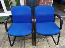 Pair of Office Waiting Reception Room Chairs in Lakenheath, UK