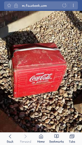 Vintage 1940s to 1950s Coca-Cola Cooler in Lawton, Oklahoma