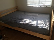 Bed full size mattress and frame in Fairfield, California