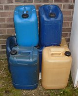 EMPTY PLASTIC DRUMS X 7 in Lakenheath, UK