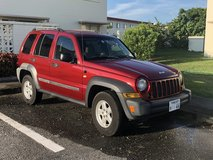 2007 Jeep Liberty (2WD, US Model, right hand drive) in Okinawa, Japan