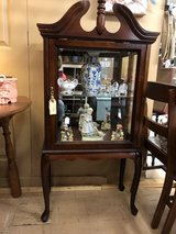 Queen Anne Style Curio/Display Cabinet in Perry, Georgia