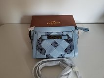 Coach Swagger 20 Wristlet Crossbody Patchwork Leather  F65140 $350 NWT in Sandwich, Illinois