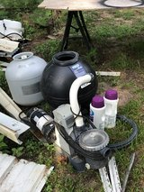 Sand filter pumps (2) in Fort Polk, Louisiana