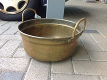 Cauldron (brass) with 2 Handles in Ramstein, Germany